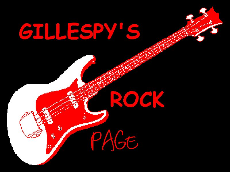 Gillespy's Rock Page