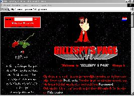 Gillespy's Page!
