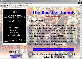 The Bon Jovi Family